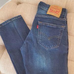 Levi's 511 jeans size 29x30 dark rinse
